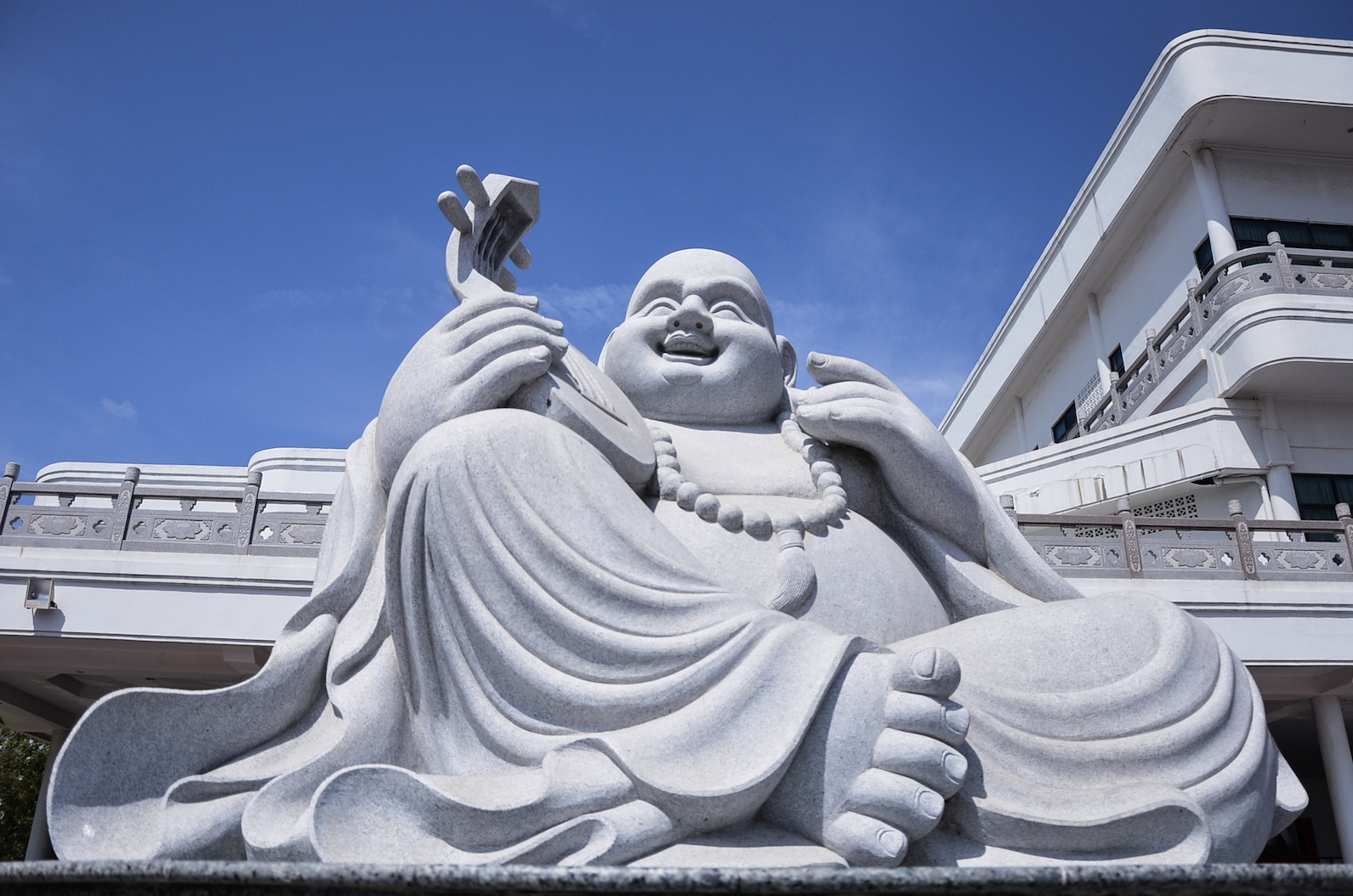 Buddha at Maha Vihara Duta Maitreya Temple